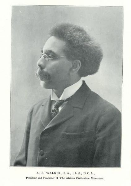 A photo of the Black Canadian lawyer A.B. Walker